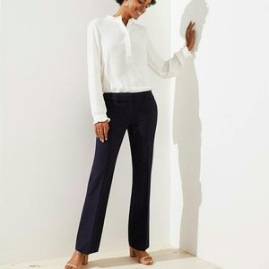 NWT tall Loft trousers - forever navy